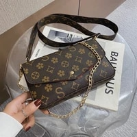women purses and handbags 2020 sac a main luxe a three piece classic designer crossbody bags luxurious messenger bags