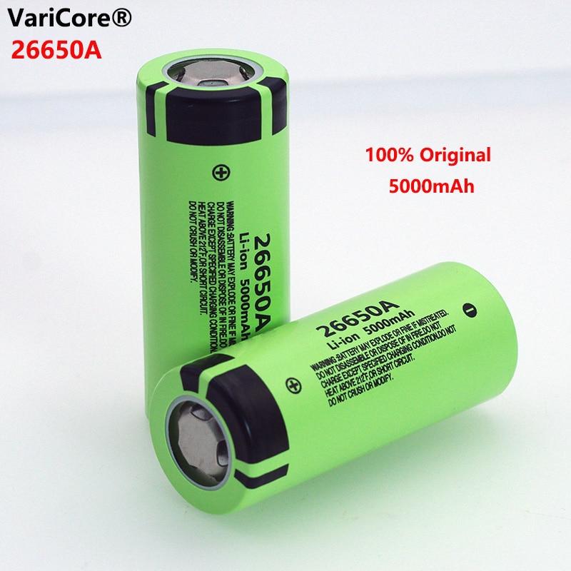1-6 26650A lithium-ionen batterie 3,7 V 5000mA akku entlader 20A power batterie, verwendet für taschenlampe elektrische werkzeuge