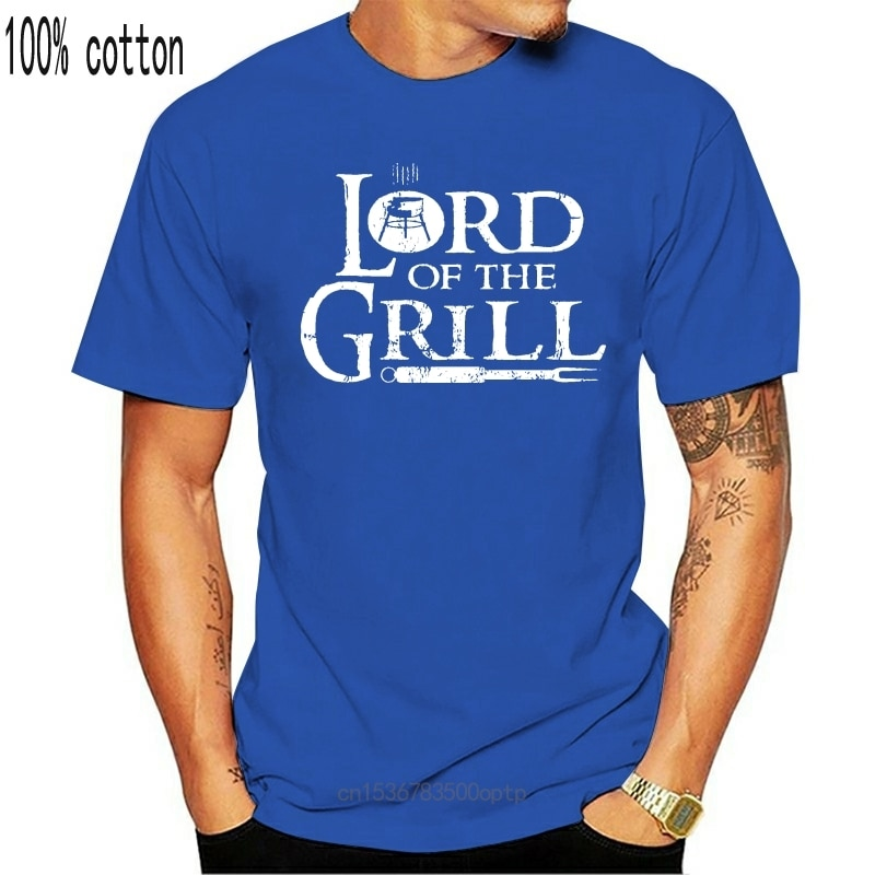 New Bbq Meat Grill Master Lord T Shirt Fitness Tee Shirt Customized Unique Male Spring Autumn Funny S-4XL Shirt