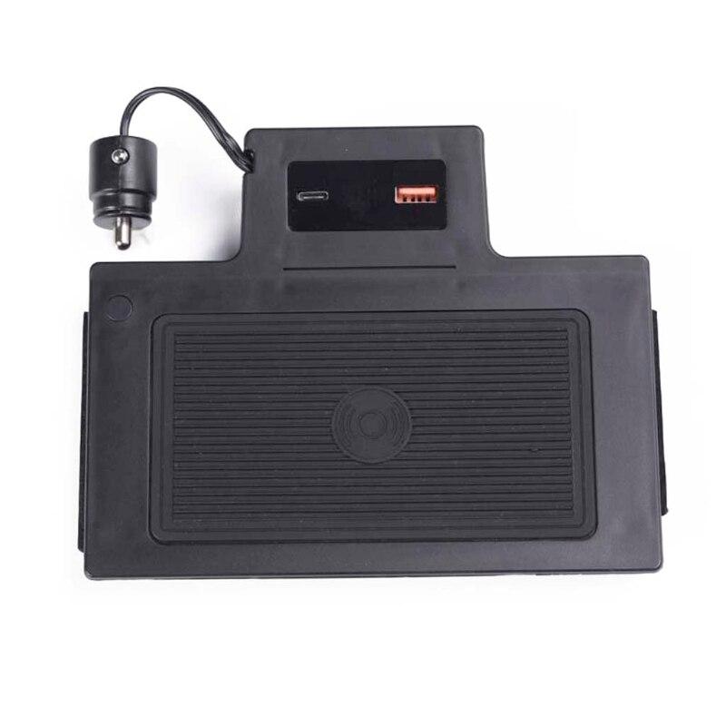 15w carregador de carro sem fio carregador do telefone placa de carregamento para glb a classe 2019 2020