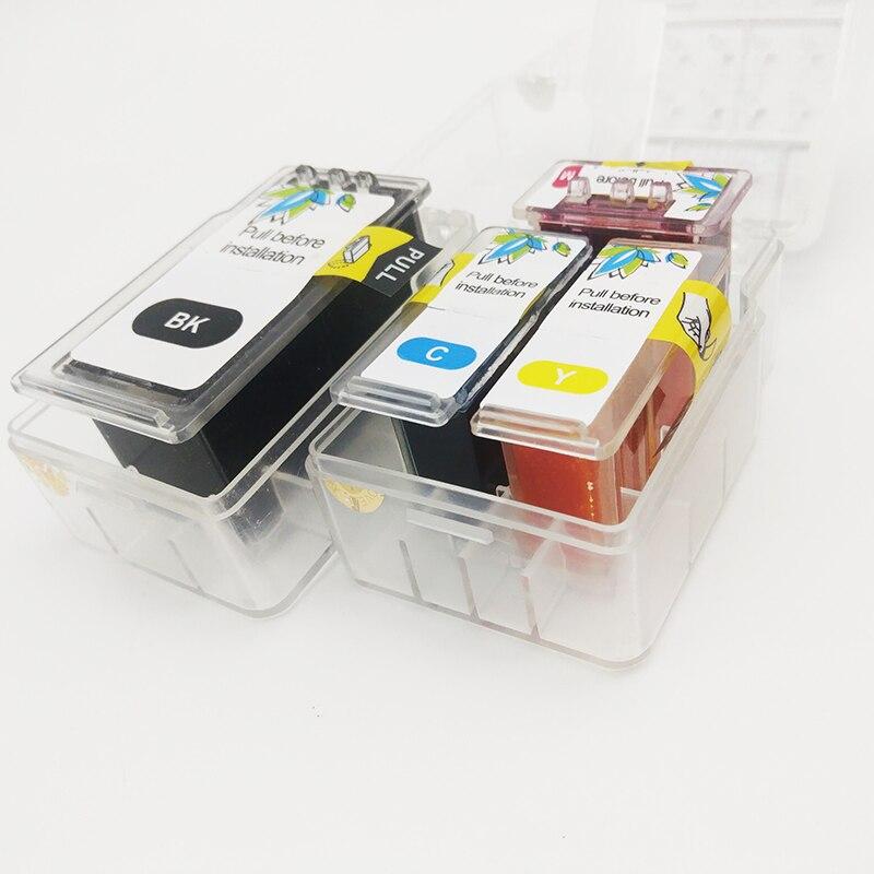 Einkshop refill cartridge CISS DIY cartridge for Canon MG3070 MG3077 MG2470 MG2570/S MG2970 IP2870 IP2872 printer V2