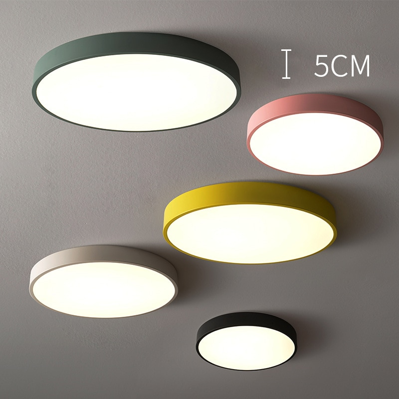luz led de teto para sala de estar corredor varanda colorida de teto facil instalacao