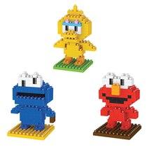 Créateurs Lepining chauds dessin animé sésame rue chiffres ELMO grand oiseau COOKIE monstres mini micro diamant blocs de construction modèle jouets