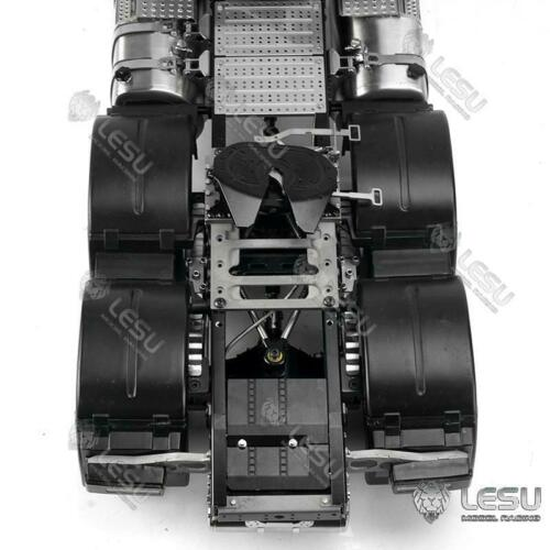 LESU 1/14 RC Metal Movable Fifth Wheel Traction Tamiya Truck Trailer Model TH16730 enlarge