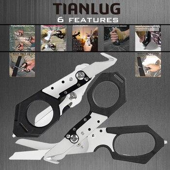 Raptor Scissors Multifunctional Folding Scissors Survival Tools Camping Equipment Rescue Scissors Trauma Scissors
