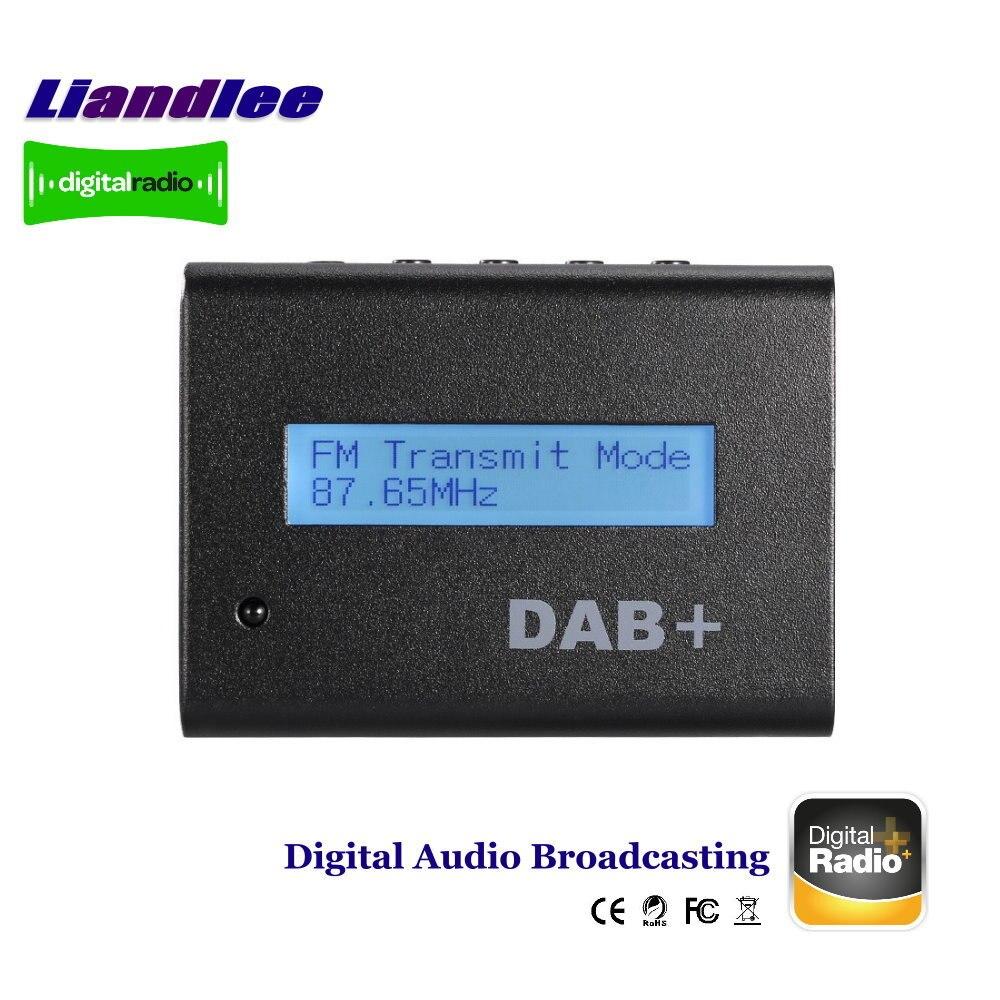 Radio Digital externa para coche, receptor de Audio DAB, transmisión FM RF,...