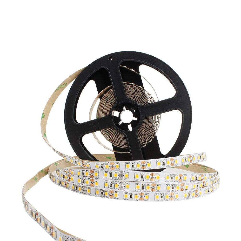5M de alta calidad 2835 SMD 120 LEDs/m 600 LED blanco frío cálido tira de luz LED no impermeable ¡envío gratis!