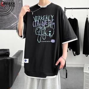WWKK  100% cotton T-shirts men women 2021 new fashion oversize cotton tshirt man summer cotton comfort trendy t shirt for tops