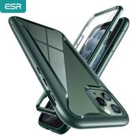 ESR Phone Case for iPhone 11 Pro Max Luxury Bright TPU Bumper Hard PC Frame Textured Non-Slip Grip iPhone Protector Case