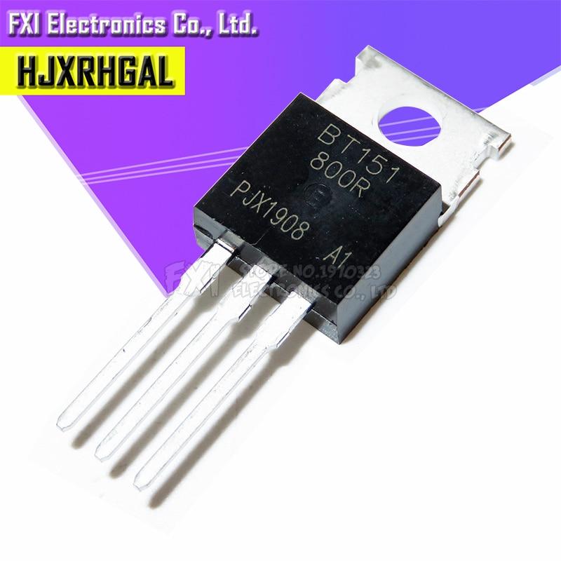 Бесплатная доставка 10 шт./лот BT151-800R SCR 12A800V SCR BT151 TO-220 Оригинал аутентичный