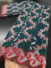 NIAI-tissu en dentelle Voile de suisse, Voile de suisse, couture 2020, tissu en dentelle séchée africaine, haute qualité, broderie nigériane, XY3377B-1