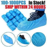 10010000pcs hot sale waterproof anti slip boot covers plastic disposable shoe covers overshoes safety drop shipping