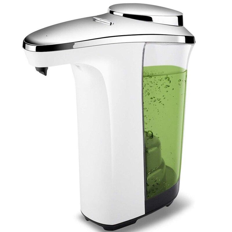 Dispensador automático de jabón, bomba con Sensor compacto, dispensador de jabón ajustable, Control de volumen, funciona con batería, 17Oz/500Ml para cocina,