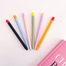 Pure Liquid Silicone Case For Apple Pencil 2 2nd Cover Case For Ipad Pencil Sleeve Accessories Anti-