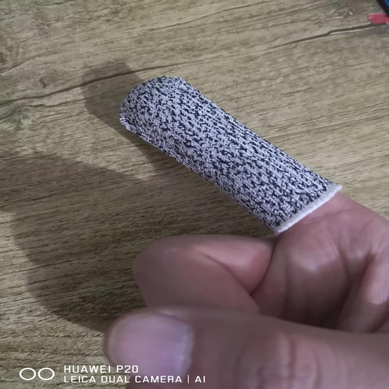 Guanti antitaglio antitaglio da 5 pezzi per cucina, lavoro, - Attrezzi da giardinaggio - Fotografia 3