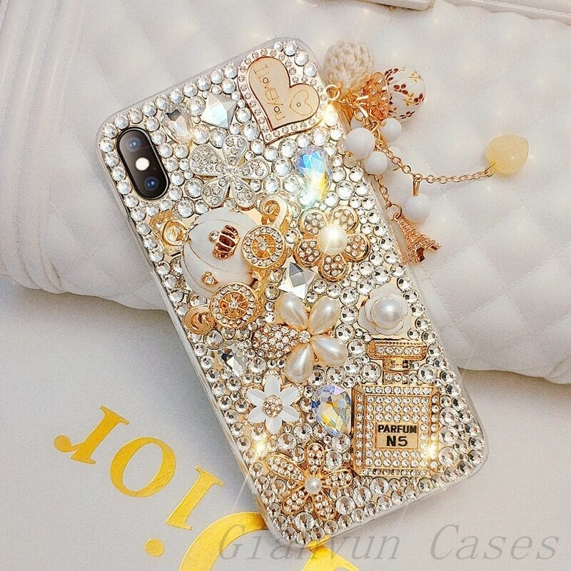 Bling Diamond Pumpkin Car Soft Phone Case For Huawei Y8S Y9 2019 Nova 5T 6 SE Pro + 7 7i 8 8SE 7SE 8Pro Nova 5i 5Z Cover