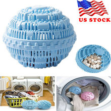 Eco-friendly Green Laundry Ball Reusable Anion Molecules Cleaning Magic Washing Personal Care Cleani