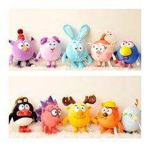 25cm Russian Smesharik Gogoriki Kikoriki Plush toy animals rabbits kod game movie village happy ball toy Gulliver for babies