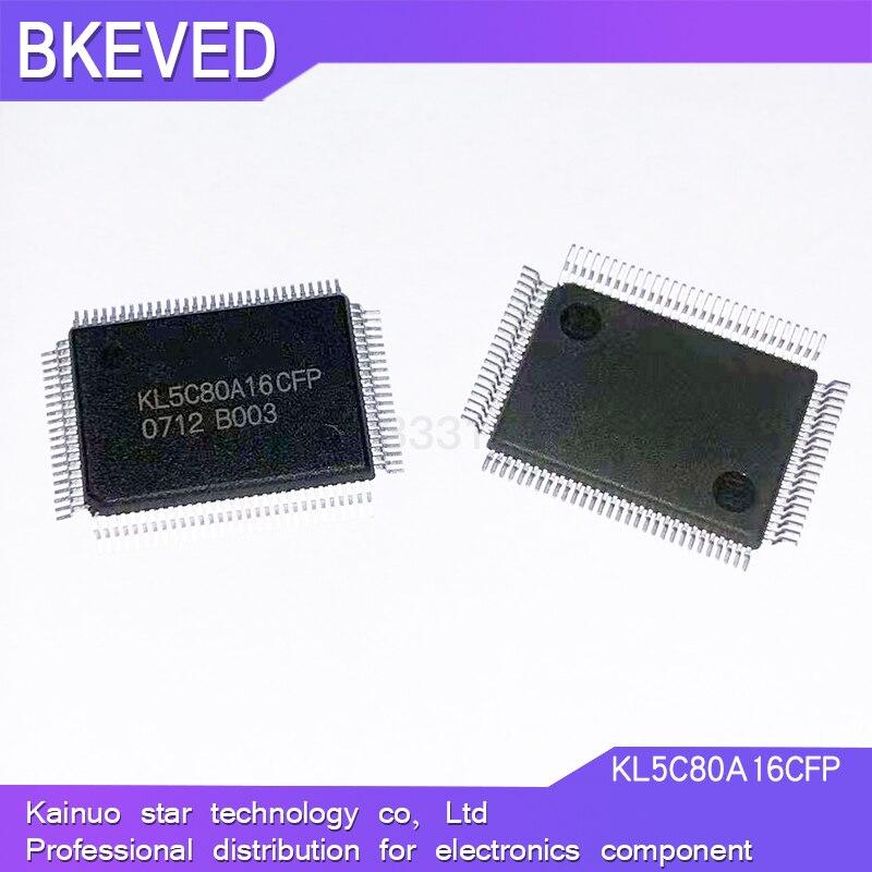 جديد الأصلي الأصلي KL5C80A16CFP QFP-100 KL5C80A16 QFP100 عالية السرعة متحكم