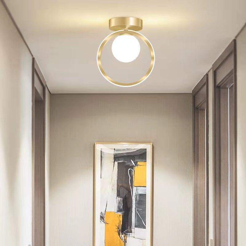 nordic conduziu a luz de teto corredor casa restaurante quarto vestiario luminaria
