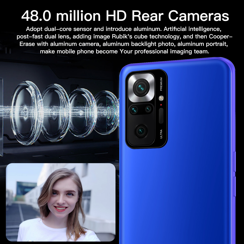 Hauwei P50 Pro Smart Phoen 12GB+512GB Cell Phones 6.7 inch Cheap Android Mobile Phones 4G/5G Netwrok Global Version Smartphoens enlarge