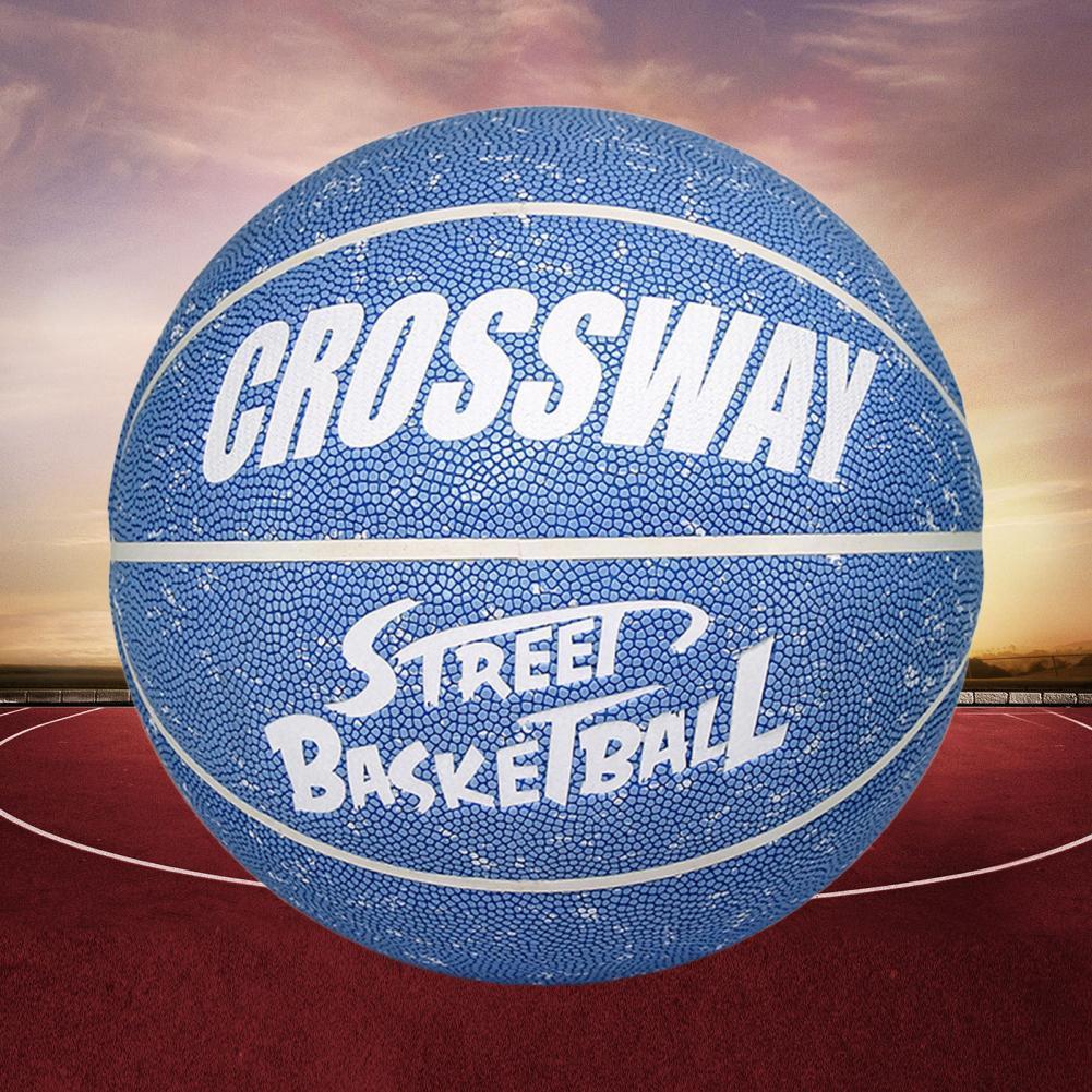 1 Набор тренировочный баскетбольный впитывающий пот устойчивый к протечке хорошо отскок Профессиональный баскетбол Crossway № 7 для легкой атл...