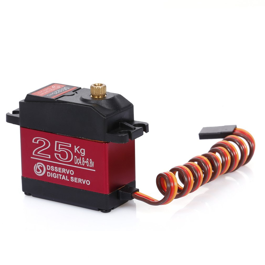 Free Shipping NEW DS3225MG Update RC Servo 25KG Full Metal Gear Digital Servo Baja Servo Waterproof Version For Cars RC Toys enlarge