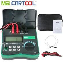 Цифровой Электрический тестер сопротивления DY4106, микро Омметр с датчиком температуры, на батарейках