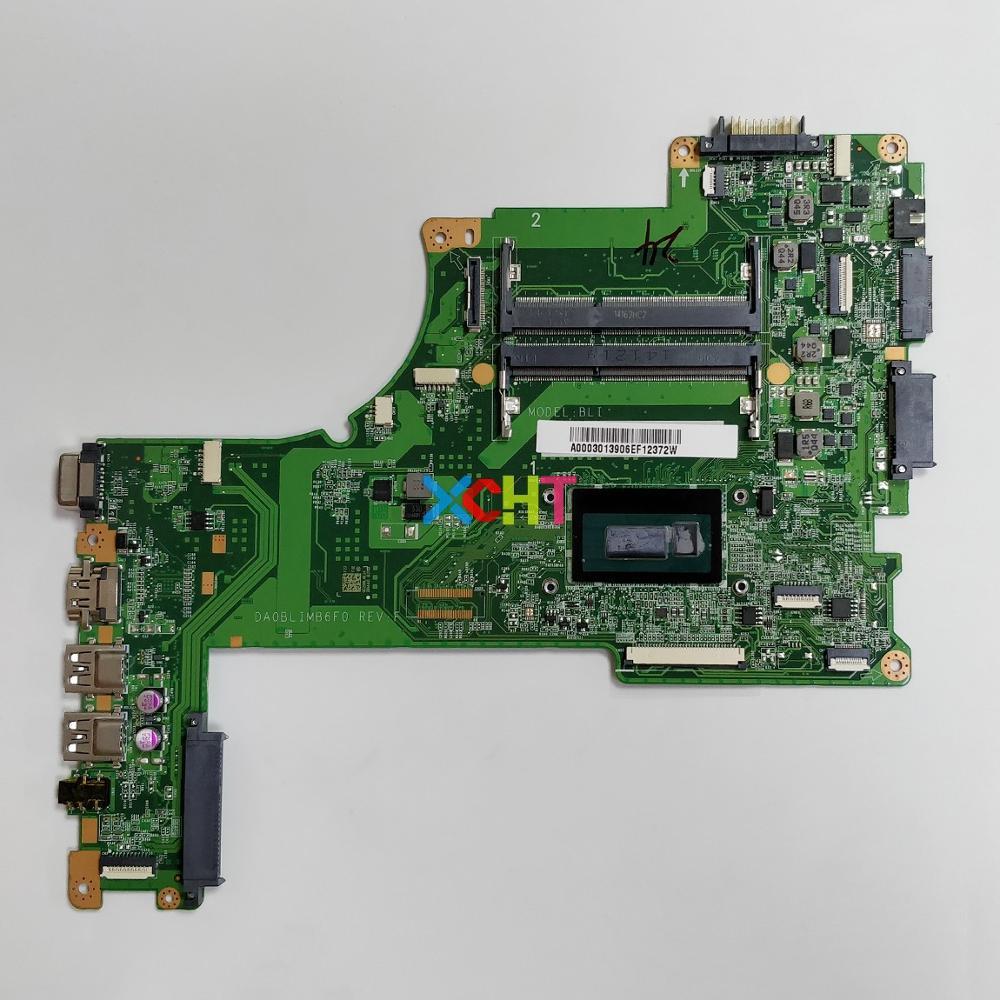 Para Toshiba Satellite L55T-B L55-B L55T Série A000301390 DA0BLIMB6F0 w i3-4025U CPU Laptop NoteBook PC Motherboard Mainboard