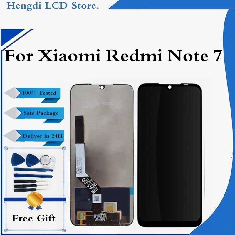 LCD ل شاومي Redmi نوت 7 LCD شاشة عرض تعمل باللمس محول الأرقام الجمعية Redmi نوت 7 برو M1901F7G LCD عرض استبدال الشاشة