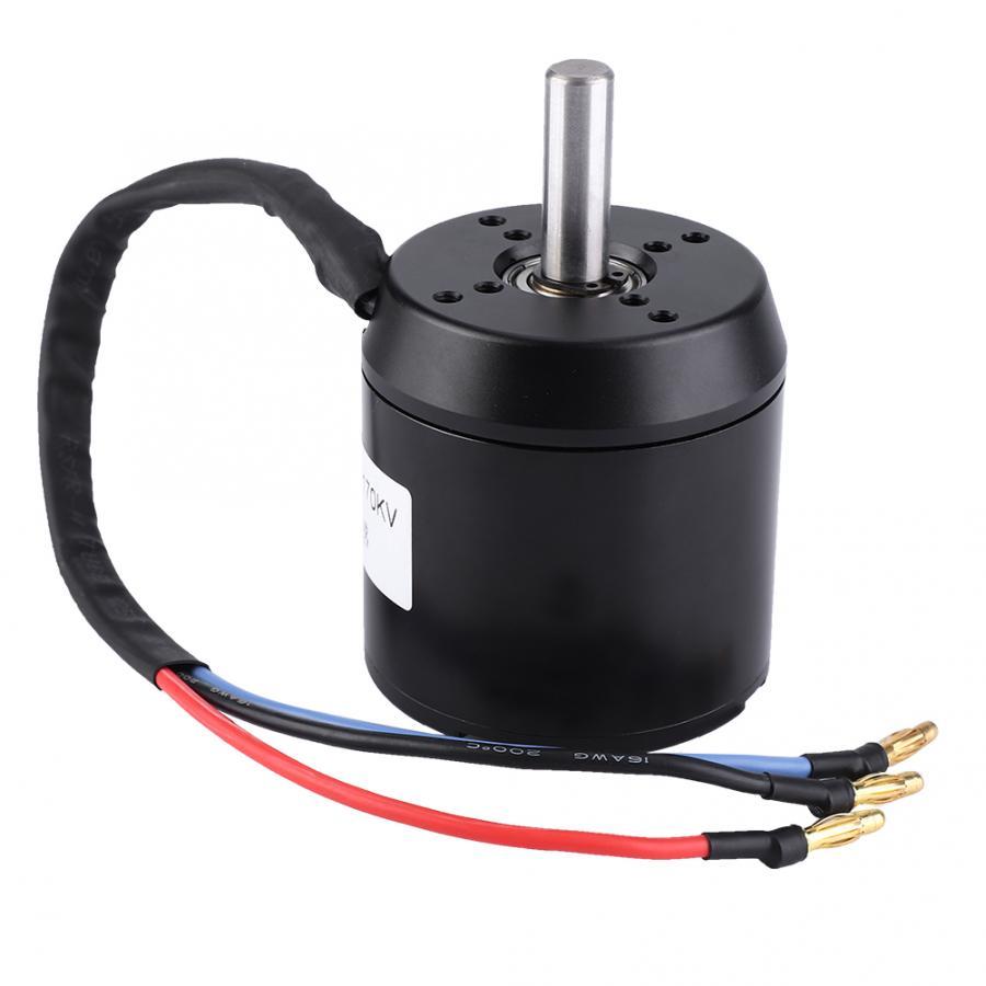 Motor sin escobillas a prueba de polvo resistente al agua de gran potencia de cubo eléctrico duradero 170KV 3000W para accesorios de Scooters eléctricos
