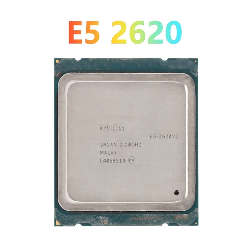 Для Xeon E5 2620 V2 CPU LGA2011 Pin процессор CPU для X79 BTC Майнер материнская плата для X79 материнская плата DDR3 RAM