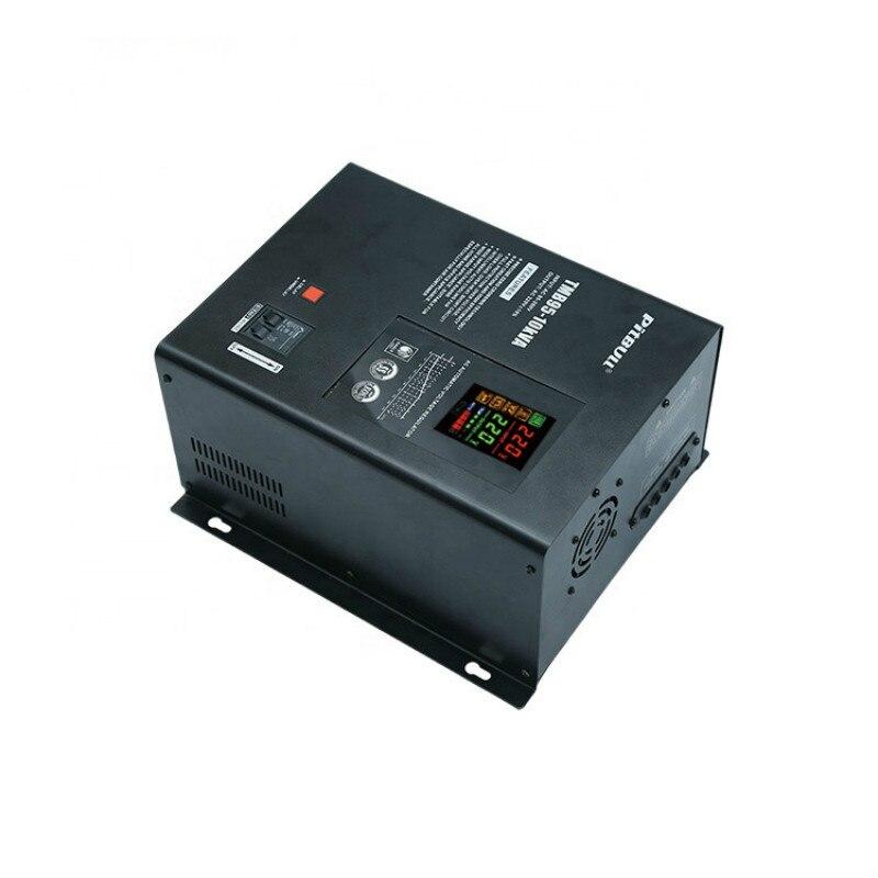 تتابع التحكم 10KVA 10KW قابل للتعديل ac مثبت الفولطية/ الجهد الكهربائي الأتوماتيكي منظم