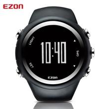 Men's Digital Sport Wristwatch GPS Running Watch With Speed Pace Distance Calorie Burning  Stopwatch