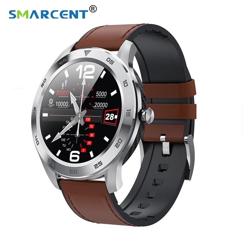 Reloj inteligente DT98 Smartwatch fitness tracker 1,3 pulgadas IP68 pantalla táctil completa impermeable Deporte Fitness pulsera reloj inteligente