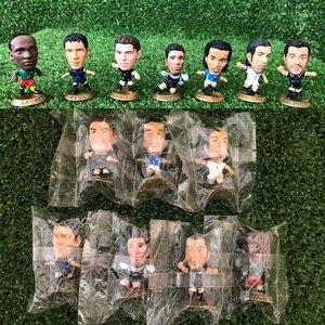 Corinthian Microstars Original Bag Mini Football Star Ronaldinho RONALDO RAUL PIERO BUFFON Figure 5cm Doll Collection