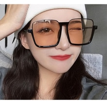 Blue Light Blocking Glasses Women Fashion Optical Eyeglass Men Oversize Sunglasses Retro Spectacle G