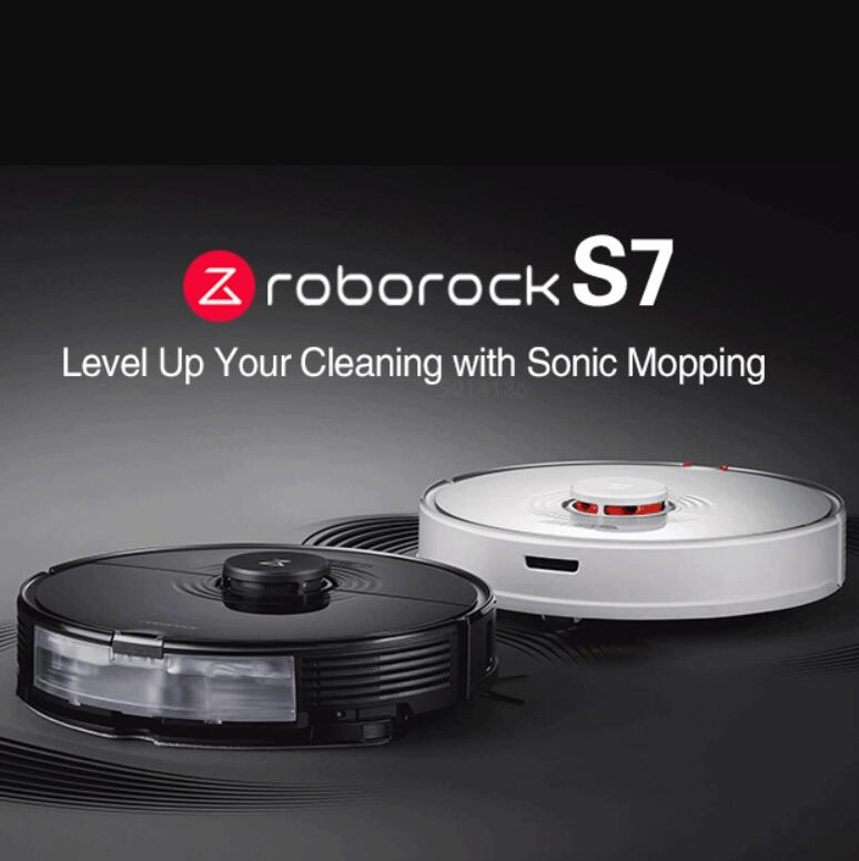 Робот-пылесос Roborock S7 с функцией сухой и влажной уборки, Wi-Fi