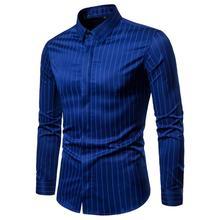 2020 New Mens  Shirts Male Autumn Casual Long Sleeve Man Shirt