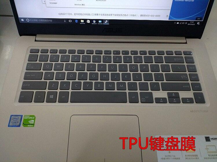 Funda protectora de teclado TPU transparente para ASUS VivoBook X510 X510UF X510UN X510UQ X510U X510 UF UN U OA K505B 15 15,6 laptop ordenador portátil