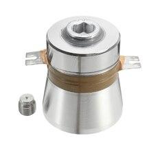 Limpiador transductor piezoeléctrico ultrasónico de alta eficiencia de conversión, 60W, 40KHz, componentes acústicos de alto rendimiento