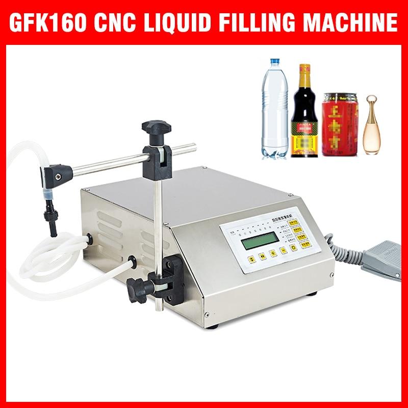 2019-110V/220V GFK160 CNC máquina de llenado de líquidos 5ML-3000ML de Control Digital rellenador de bomba controlador CNC nueva para la cocina
