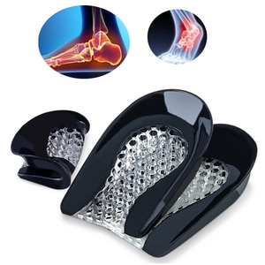 Unisex Silicone Insoles Gel Pad Massaging Insoles Shoes Cushion Pad Insoles Inserts Anti Shock Arch Support Orthopedic Insoles