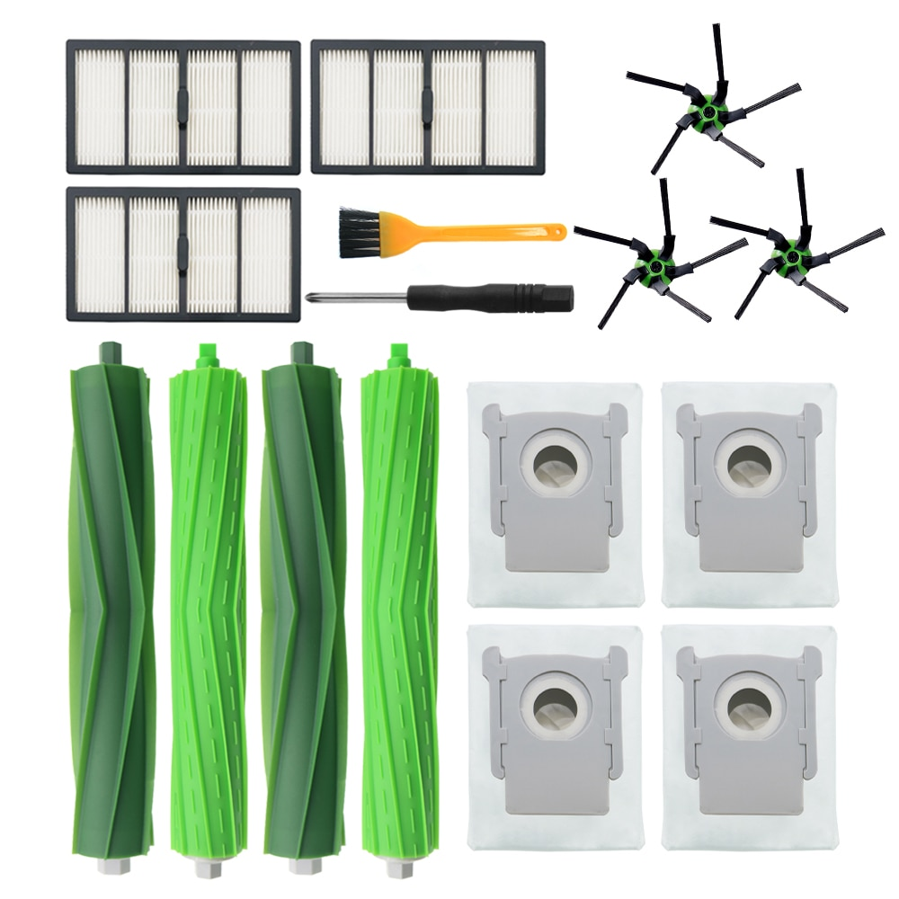 Replacement Parts Compatible with for iRobot Roomba s9 (9150) s9+ s9 Plus (9550) S Series Wi-Fi Connected Robot Vacuum Cleaner