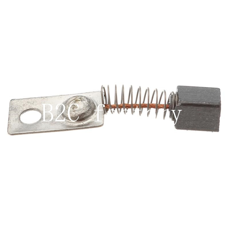 20 Pcs Metal Elektrische Motor Koolborstels Vervangen Voor/Saeyang Serie Dental Slijpmachine 3.3*3.3*4.5mm
