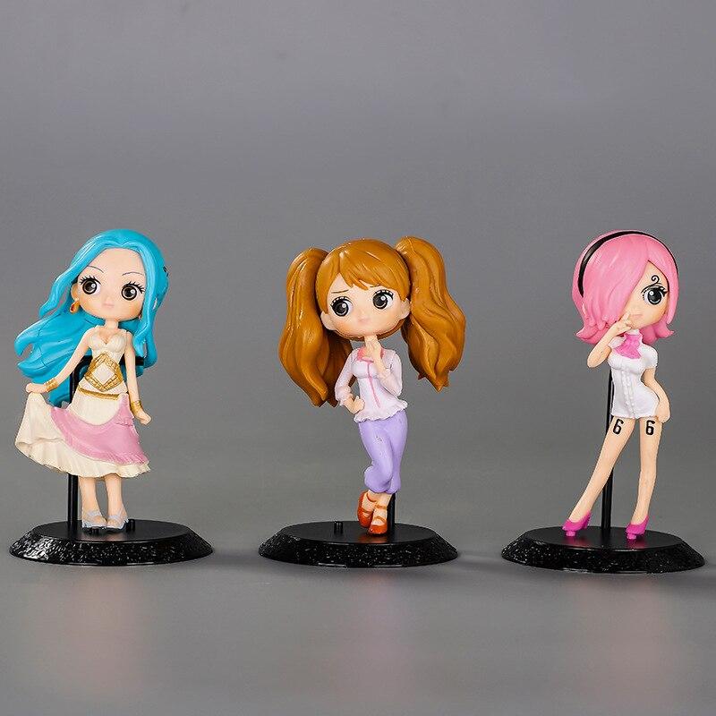 3 tipos 12.5cm uma peça vinsmoke reiju nefeltari vivi charlotte pudim anime figura de ação pvc coleção modelo brinquedo