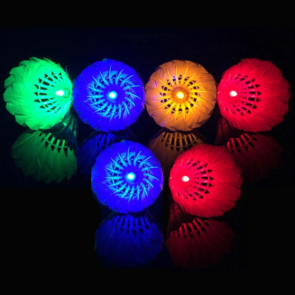 Светящийся Бадминтон (с электричеством), светящийся бадминтон с подсветкой, подходит для игр на открытом воздухе и занятий спортом в помеще...