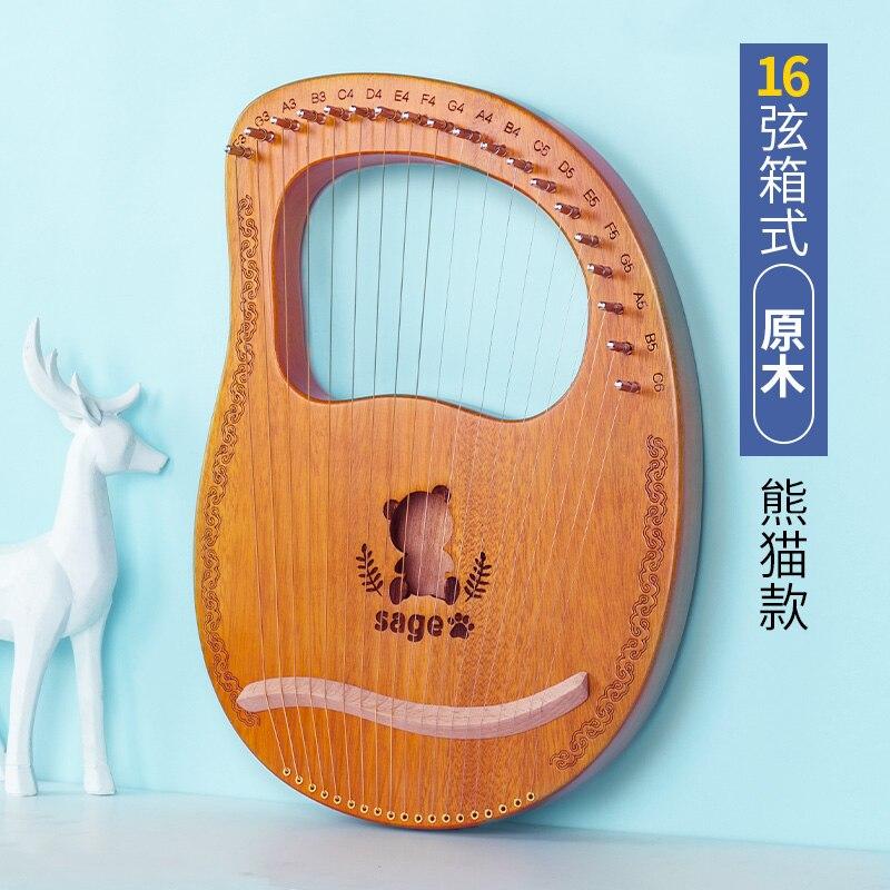 Music Celtic Instrument Harp Case Kit Small Lyre Harp 19 String Wooden String Music Frends Harph Strumenti Musicali Decor HX50SQ enlarge