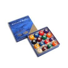 "Billiard Pool Ball Tournament Quality Full Size Number Ball Set 16 Balls 2-1/16"" 52.5mm"