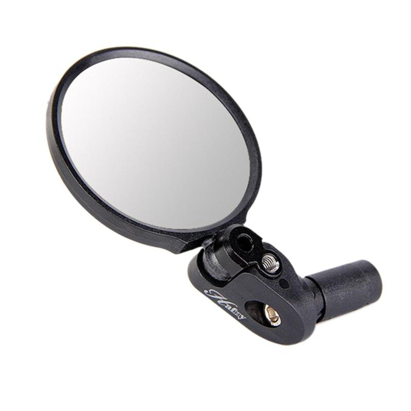 Extremo del manillar de la bicicleta espejo de acero lente gafas de ciclismo espejo retrovisor trasero accesorios de bicicleta para bicicleta de montaña